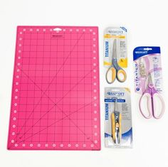 Enter for a chance to win 1 Self Healing Cutting Mat, 1 Microtip Titanium Bonded Scissors, 1 Heavy Titanium Bonded Scissors, and 1 Medium Titanium Bonded Spring Assist. The deadline to enter is May 7, 2017 at 11:59:59 p.m. Eastern time.