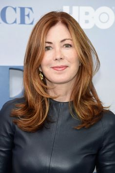 Dana Delany Layered Cut - Dana Delany topped off her look with a flippy layered cut when she attended the New York premiere of 'Divorce.'