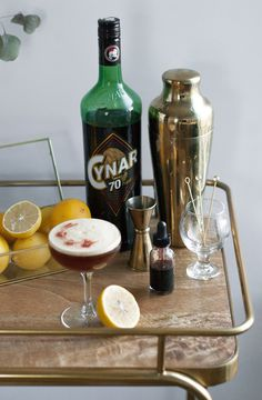 The Bitter Honey Bee with Cynar 70 // Craftancocktails.co