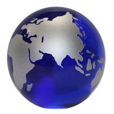 paper weight | ... Globe Paperweight Paper Weight - World Map Global Countries, Blue