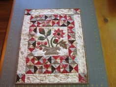Garden Path - a little quilt by happyquiltmom from the quiltingboard.com