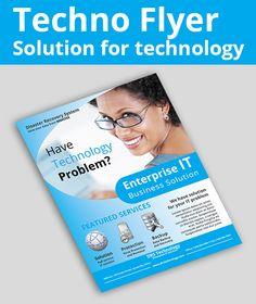 IT Solution - Flyer