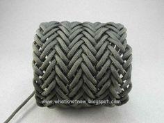 knots patterns paracord   Turks head knot bracelets and contemporary fiber bracelets: August ...