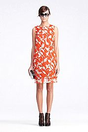DVF Akeelah Ruched Dress: Please buy this for me!