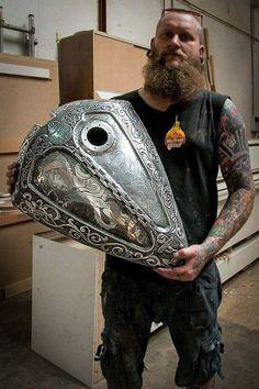 Custom Knuckle - Tony The Engraver