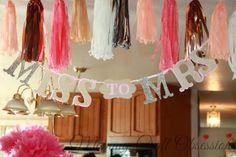 My Fairytale Bridal Shower: Banner (not garland) by Jazuk Designer Die Cuts