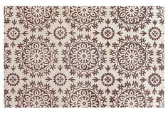 Star Burst Rug, Ivory/Chocolate on OneKingsLane.com
