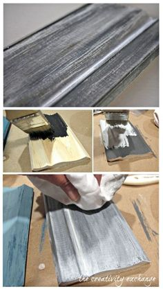 How to use milk paint to create beautiful finishes for furniture revamps {The Creativity Exchange}