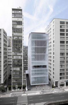 Projeto do Museu Instituto Moreira Salles /São Paulo - SP,Imagem via Concurso de Projeto