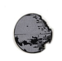 Check out this item in my Etsy shop https://www.etsy.com/hk-en/listing/279825612/star-wars-patch-death-star-ii-patch-logo
