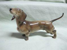 Hutschenreuther Germany DACHSHUND Dog Figurine