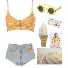 """Summertime"" by mint-hime on Polyvore"
