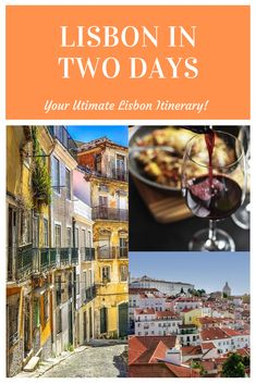 With two days in Lisbon, Portugal, you can cover a lot. From catching a Fado show at night to eating some Pasties de Belem during the day, its a feast for the senses.   #Lisbon #Portugal #lisbonitinerary #twodaysinLisbon #lisbonintwodays
