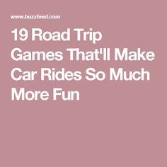 19 Road Trip Games That'll Make Car Rides So Much More Fun