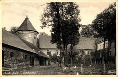 Insterburg, Im Schlosshof Prussia, Photo Postcards, Germany, Drawings, Image, Pictures, Deutsch, Sketches, Drawing