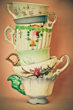 Teacups unusual likes can be paired together in pleasure