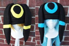 Umbreon Pokemon Hat - A winter, nerdy, geekery gift! on Etsy, $21.00