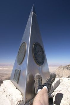 Hike to Guadalupe Peak, Highest Point in TX, Guadalupe Mountains National Park, Texas Texas Roadtrip, Texas Travel, Travel Usa, Vacation Spots, Vacation Ideas, Guadalupe Peak, Guadalupe Mountains National Park, Texas Bucket List, Backpacking