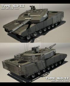 Type 16B-II Main Battle Tank by EBR-KII on DeviantArt