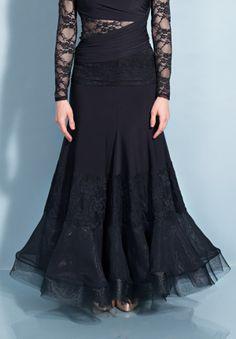 Chrisanne Morena Passion Ballroom Skirt | Dancesport Fashion @ DanceShopper.com