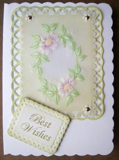 Parchment Craft Tutorial - Daisy Oval Design by Wendy Walters http://geminiclasses.weebly.com/free-parchment-craft-patterns-blog-page/parchment-craft-daisy-oval-stage-5-re-perforating-cutting