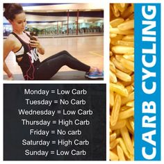 Carb cycling starts today! Wish me luck ???