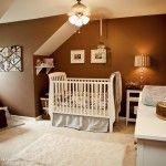 Chocolate Brown Baby Boy Nursery