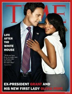 Tony Goldwyn and Kerry Washungton on the cover of TIME