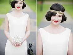 1920's Boardwalk Empire / Great Gatsby inspired wedding. Photos by @KIRSTEN MAVRIC