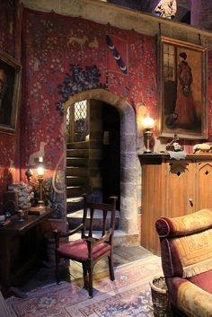 My entire house will look like the inside of the Gryffindor common room.  That's assuming I have any money left once I've finished buying my Harry Potter wands.