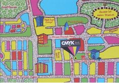 Map to CMYK Book Store