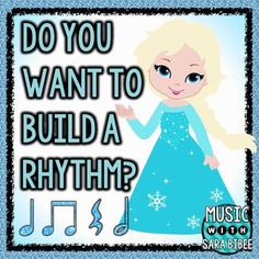 Watch this video to see how to use this file! FROZEN: Do You Want to Build a Rhythm?- Demonstration Video This is a Jeopardy-style game that can be modified for use as flash cards and other styles of games as well. In the questions, traditional music notation is used with both numeral and syllabic performance suggestions on the answer slides.