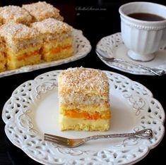 Ciasto Brzoskwiniowo-Kokosowe - Przepis - Słodka Strona My Favorite Food, Favorite Recipes, Polish Recipes, Polish Food, Sweets Cake, Russian Recipes, Amazing Cakes, Sweet Recipes, Sweet Tooth