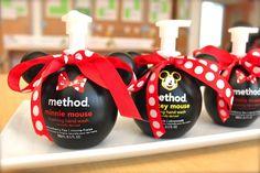 Mickey Mouse Hand Soap - Cute preschool teacher gift!
