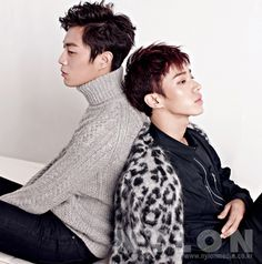 Doo Joon and Gi Kwang - Nylon Magazine December Issue '13