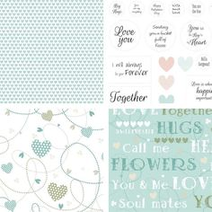 We have a fantastic printable download collection for you! Log in at docrafts.com and download your free Valentines Collection printables featuring sentiments, text and patterns.