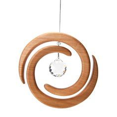 Swirling Crystal Suncatcher in Home Decor - Nova Natural Toys + Crafts