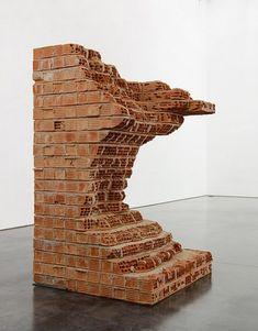 Damian Ortega at Gladstone Gallery (Contemporary Art Daily) Contemporary Art Daily, Contemporary Sculpture, Abstract Sculpture, Sculpture Art, Abstract Art, Damian Ortega, New York Exhibitions, Brick Art, Gladstone