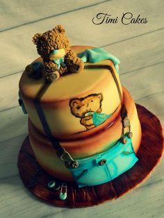teddy cake by timi cakes