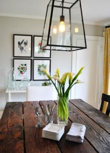 How to stage your dining room when selling your house #selling #diningroom #staging
