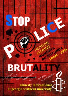 how to stop police brutality essay