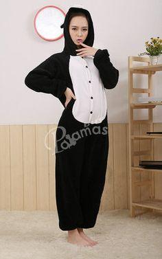 Black Pig Onesies Hoodie Pajamas Animal Kigurumi | PajamasBuy
