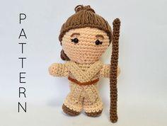 Rey Star Wars Inspired CROCHET PATTERN - Instant PDF Download
