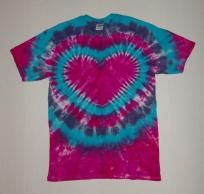 Custom Order for Rose - Three Electric Heart Tie Dye T-Shirts