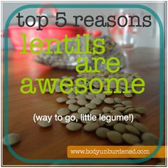 Nutrition and health benefits of lentils. #health