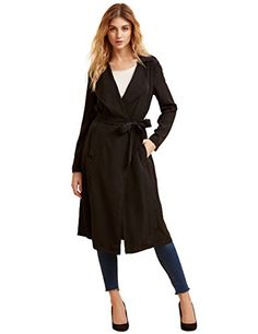 Verdusa Women's Casual Long Sleeve Wrap Trench Coat with ... https://www.amazon.com/dp/B01MF9F52M/ref=cm_sw_r_pi_dp_x_9snryb1VY6XKQ