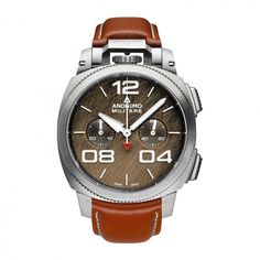 See the Anonimo Chrono - Steel Case Bronze Dial watch - Movement : Self-winding mechanical - Case : Steel Elegant Watches, Beautiful Watches, Burberry Men, Gucci Men, Versace Men, Luxury Watches For Men, Cool Watches, Men's Watches, Watch Brands