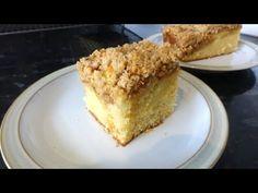 Apple Crumble Cake, Light Cakes, Baking, Breakfast, Food, Morning Coffee, Apple Pie Crumb Topping, Bakken, Essen