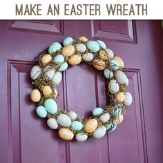 Knock Off Craft Store Easter Wreath @Johnnie (Saved By Love Creations) Lanier