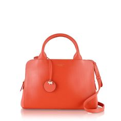 The Millbank zip-top leather grab bag is a beautiful piece for the new season.
